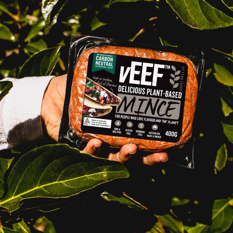vEEF carbon neutral mince