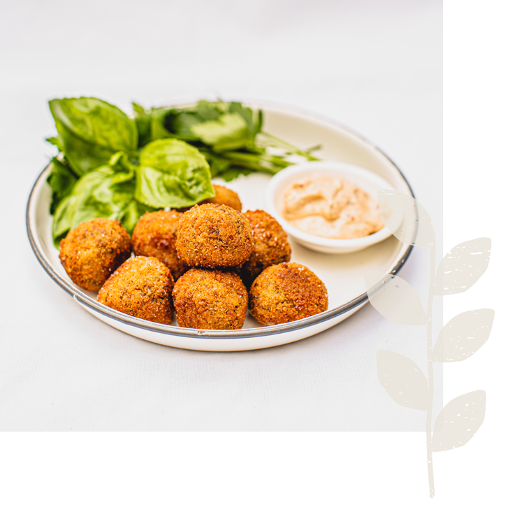 plant based meatballs by fenn foods